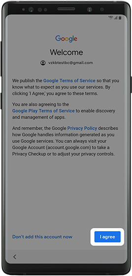 Google Terms of Service and Privacy Policy