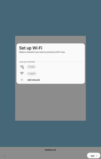 Configurar Wi-Fi