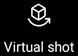 Virtual Shot Icon