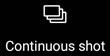 Continuous Shot Icon