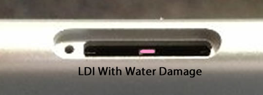 LDI with Water Damage