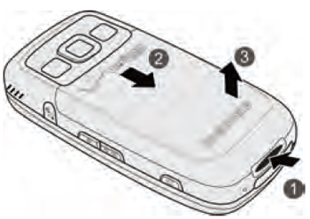 Remove the battery cover