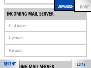 Incoming Mail Server information