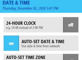 Reloj de 12 / 24 horas