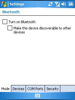 Bluetooth is Disabled