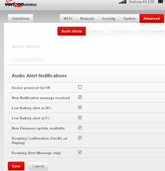 Audio Alert Notifications