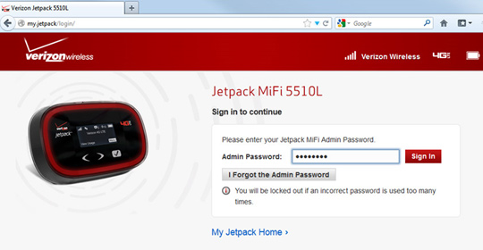 Verizon Jetpack 4G LTE Mobile Hotspot MiFi 5510L Review ...