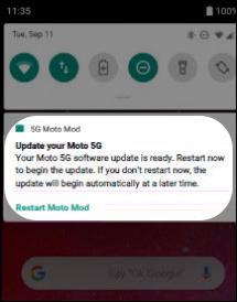 Update mod