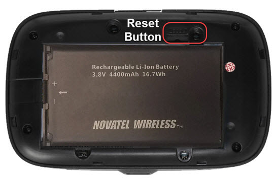 Master Reset button