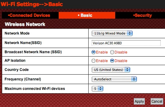 Change Network Name (SSID)