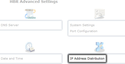 Click IP Address Distribution