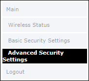 Click Advanced Security Settings