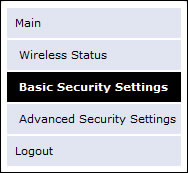 Basic Security Settings