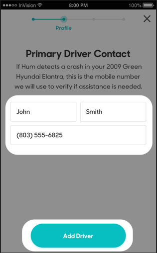 Add primary contact driver