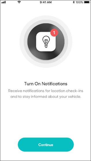 Turn on notifications