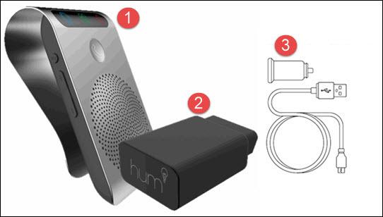 Hum+ device set