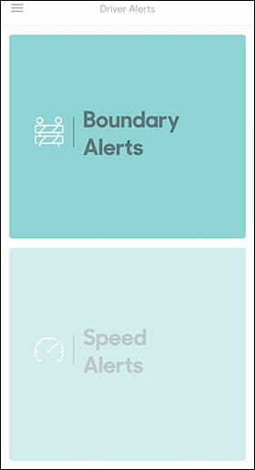 Tap Boundary Alert