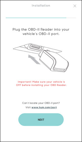 Plug in OBD reader