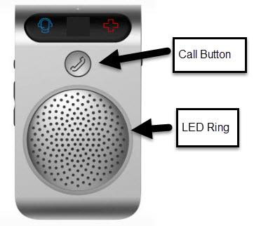 Speaker phone button