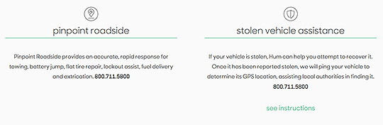 Roadside and stolen vehicle assistance