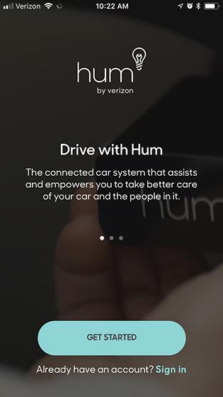 Hum app get started