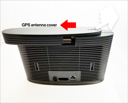 GPS Antenna cover removal