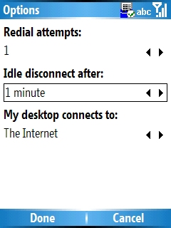 Automatic internet disconnect step 6