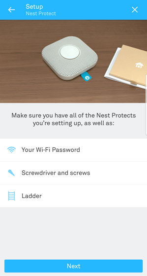 Nest protect setup instructions