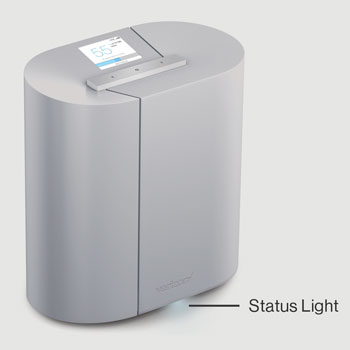 SmartHub with emphasis on LED Status Light