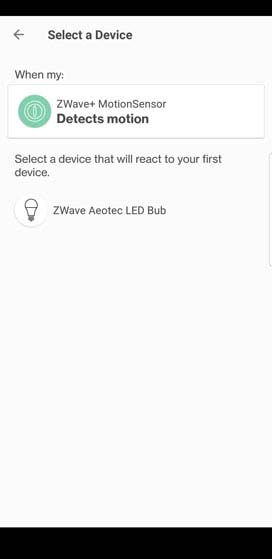 Verizon Home device selection
