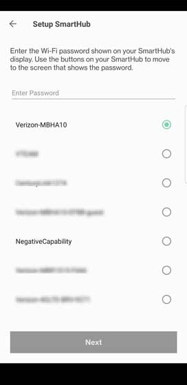 Verizon Home settings Setup SmartHub wifi
