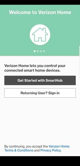 SmartHub app setup